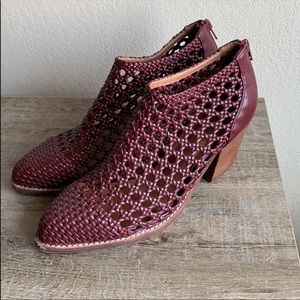 Jeffrey Campbell Gallup woven booties